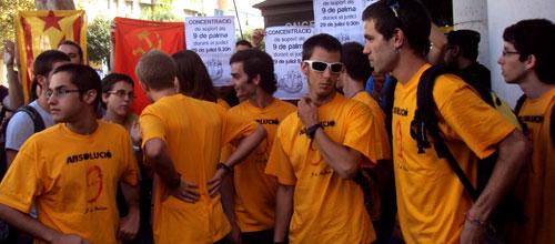 Los 9 maulets acusados niegan las amenazas a Jorge Campos