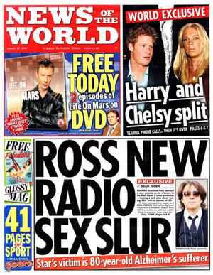 Murdoch cierra News of the World por el escándalo de las escuchas