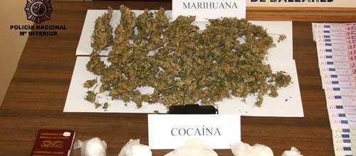 Desmantelan uno de los puntos de venta de droga más activos de Palma