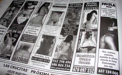 La prohibición de los anuncios de prostitución afectará a los digitales