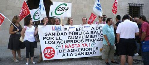Los sindicatos exigen al Govern que concrete los recortes en Sanidad