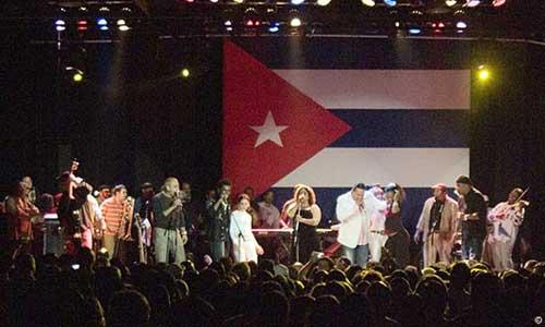 'El tren de la música cubana' para hoy en Mallorca