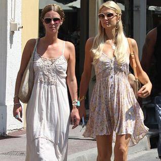 Paris Hilton disfruta del sol de Ibiza