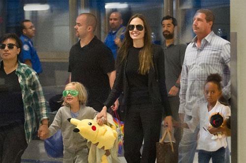 Angelina Jolie y Brad Pitt veranean en Formentera