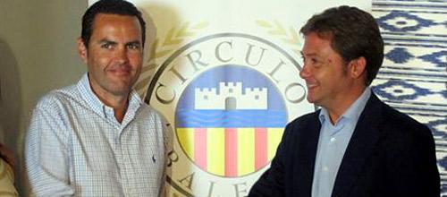 Cristóbal Mora sustituye a Jorge Campos al frente del Círculo Balear