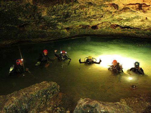Calleja descubre en Mallorca el mayor sistema subacuático de Europa