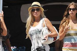 Lindsay Lohan quiere ir a Ibiza con las Hilton