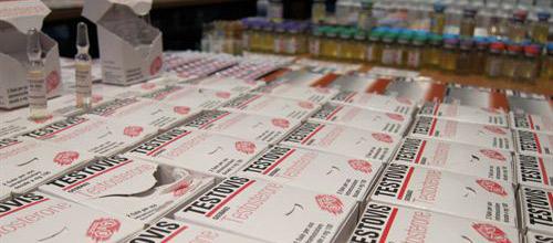 Las sustancias de la red de tráfico de anabolizantes valen unos 100.000 €