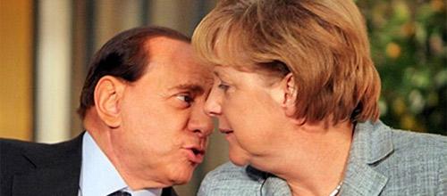 Silvio Berlusconi llama a Angela Merkel