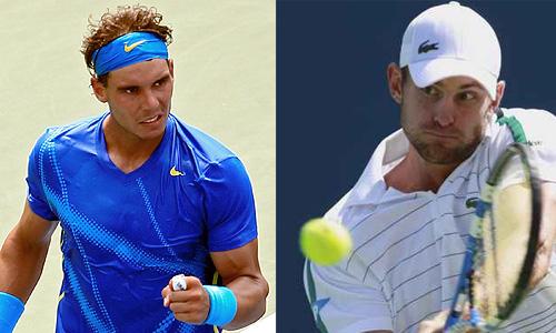 Roddick, escollo de Nadal para las semifinales