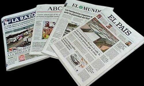 El Mundo y ABC caen un 15% mientras que El País mejora un 1,9%