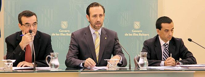 Bauzá anuncia la eliminación de 92 empresas públicas