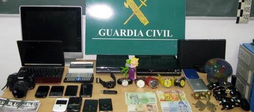 Detenido por numerosos robos en hoteles y domicilios de Ibiza