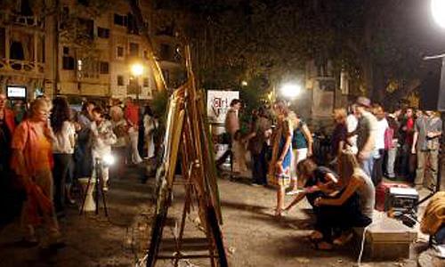 La Plaza del Mercat de Palma acogerá la Nit de l'Art