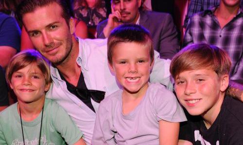 Los Beckham, a la conquista de París