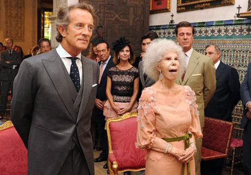 La Duquesa de Alba y Alfonso Díez ya son marido y mujer