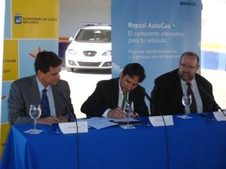 Calvià se alía con Repsol para fomentar el uso del autogas