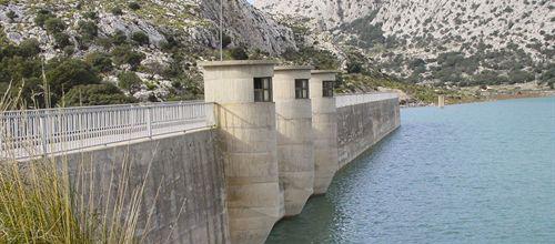 La escasez de lluvias reduce a la mitad el agua de los embalses de Palma