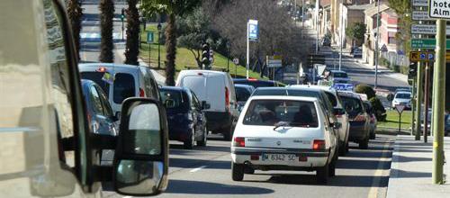 El CO2 de los vehículos matriculados, por debajo de la media nacional