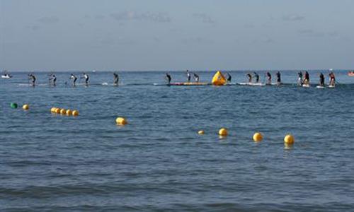 La playa de Palma acoge el primer campeonato de Stand Up Paddle