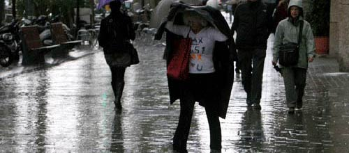 El Servicio de Emergencias prevé un otoño más lluvioso que el de 2010