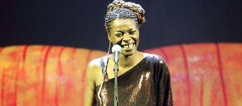 Concha Buika pone voz a la lucha contra el sida