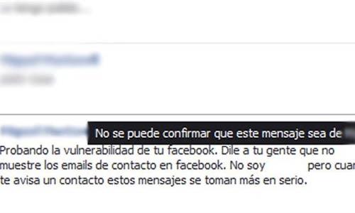 Facebook sufre un importante fallo de suplantación de identidad