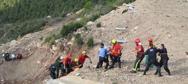 Dos fallecidos al estrellarse con un helicóptero en Andratx