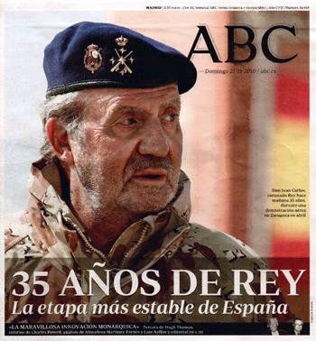"""El monárquico ABC niega """"un silencio informativo"""" sobre Urdangarín"""