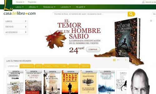 La Casa del Libro estrena su librería virtual Tagus y un 'eReader' propio