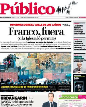 Público ya tiene más lectores que La Razón