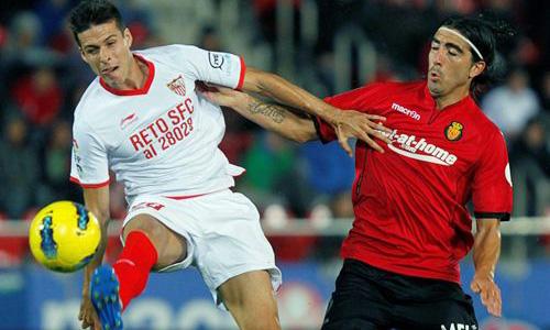 El RCD Mallorca no puede con el Sevilla