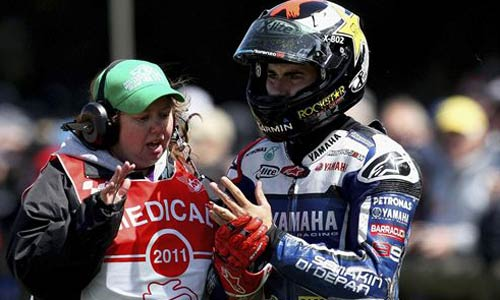 Lorenzo, baja definitiva en el GP de Valencia