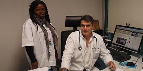 Oncología de Son Espases forma a una médica residente de Guinea Ecuatorial