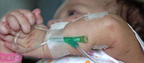 Uno de cada cinco niños con neumonía requiere ingreso hospitalario