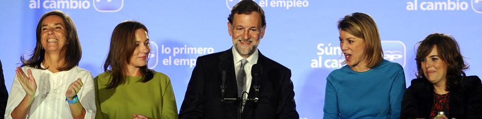 El PP arrasa y el PSOE se hunde