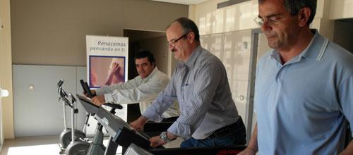 La nueva Unidad de Rehabilitación Cardiaca de la Miramar, en marcha
