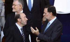 Rubalcaba y Rajoy se enfrentan 'cara a cara'