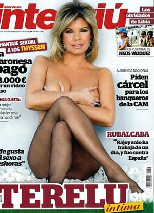 Terelu Campos se desnuda para Interviú