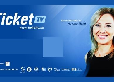 Victoria Maldi, nueva imagen de Ticket TV