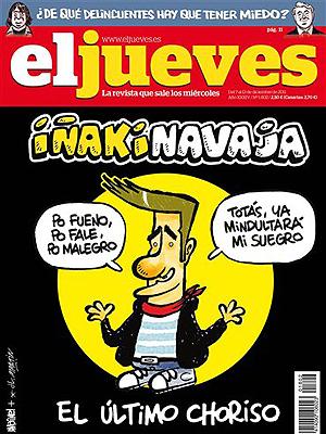 El Jueves satiriza a Urdangarín