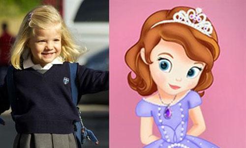 La Infanta Sofía...¿princesa Disney?