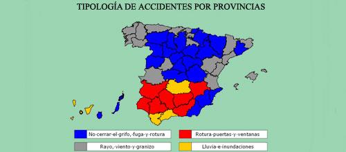 Los daños por rayo y viento, los más comunes en los hogares de Baleares