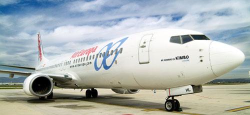 Los pilotos de Air Europa alcanzan los 700 vuelos cancelados