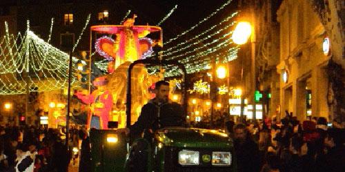 La Cabalgata de Reyes tendrá más carrozas y comparsas pese a la crisis