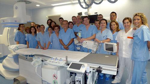 El Servicio de Cardiología de Son Espases suma 33.000 cateterismos
