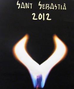 Premiado el cartel Llumí' para las fiestas de Sant Sebastiá 2012
