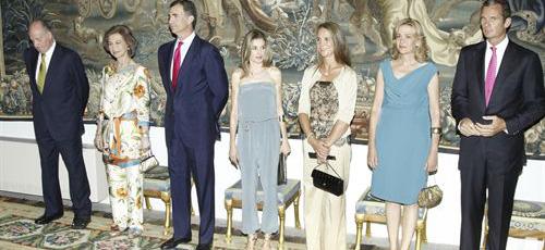 La Casa Real aclara que la Infanta Elena y los duques de Palma no