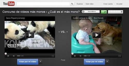YouTube lanza un campeonato de vídeos para elegir los mejores