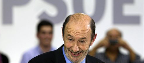 Rubalcaba quiere liderar el PSOE con un proyecto de